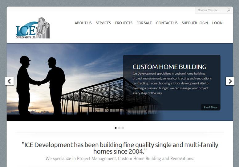 ICE Developments Ltd. Website