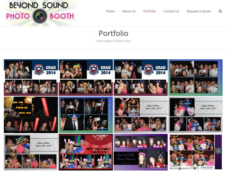 Beyond Sound Photo Booth Portfolio