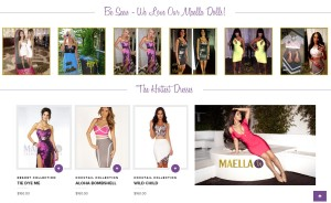 Maella Fashion Website