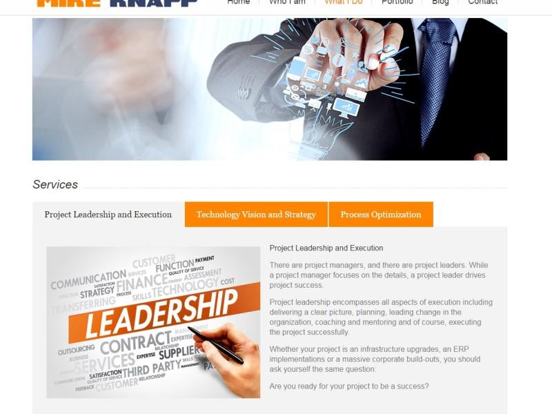 Mike Knapp Website